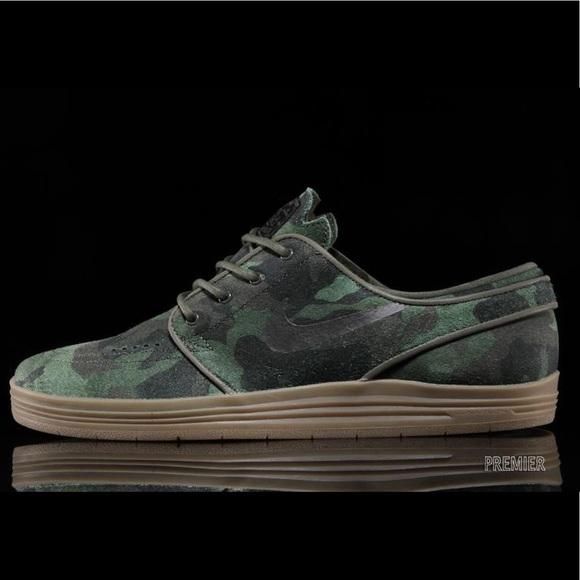 buy online ffa83 8c255 Nike SB Lunar Stefan Janoski QS - Camo Print. M 5bcf7fe6de6f627428796b29